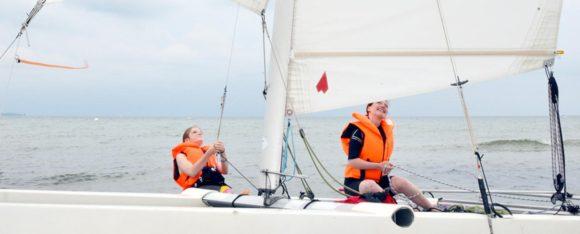 Alles klar zur Wende: Segelfreizeit auf der Alster und an der Schlei
